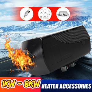 RV römork otomobil parçaları için 1-8kw araba ısıtıcı aksesuarları dizel yakıtı yağ filtresi çıkış borusu aksesuar Tam set