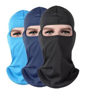 Chapeaux d'extérieur Protection Full Face Micro fibre Lycra Balaclava Couvre-chef ski cou vélo moto Masque masques de capot gros