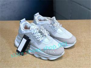Versace shoes Xshfbcl 2020 nouveaux hommes et femmes chaussures de sport classique mode semelle épaisse chaussures à lacets chaussures couple de baskets taille 36-45
