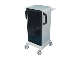 Elitzia ET433 салон мебели Вертикальный Spa вагонетки Роллинг Корзина с 3 выдвижными ящиками Большой багажный Место