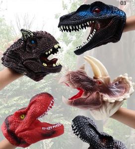 Большие цифры игрушки новый замечательный мини динозавр голова палец крышка детские игрушки главная вечеринка выполнение прекрасные подарки декор мальчиков игрушка 3D имитировать ПК