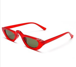 The new style of personalized decorative ring sunglasses -- lady's sunglasses with small frame -- is designed for the European and American