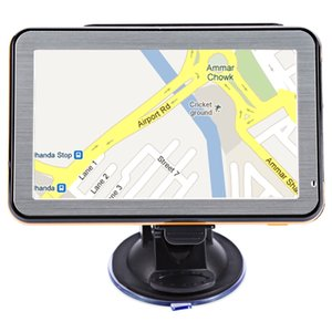 Mappe multifunzione a 5 pollici TFT LCD per navigazione GPS per veicoli con guida vocale
