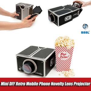 Deuxième génération portable DIY Projecteur 3D Mini Smart Phone Digital Home Theater Lumière Nouveauté Projecteur Installation facile Cinéma In A Box