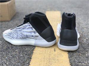 2020 authentiques chaussures de basket-ball Quantum QNTM Hommes Femmes Mafia EG1535 Kanye West vague Runner réfléchissant Chaussures de sport de sport avec la boîte originale
