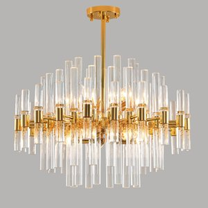 design modern chandelier LED lights Dia60*H40cm lustre dnning room living room gold lamp