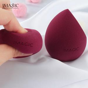 Envío de la gota de maquillaje IMAGIC Fundación maquillaje de la esponja del soplo del soplo Smooth Herramientas facial Fundación Blender Corrector en Crema de belleza