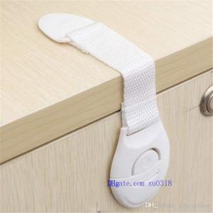 Оптовая продажа-шкаф дверные ящики холодильник туалет удлиненный бенди безопасности пластиковые замки для ребенка Kid Baby Safety ткань с замком безопасности