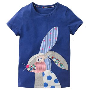 kids clothes  baby girls and boys clothes sale summer cotton t shirts for kid 2-7years 6 PCS