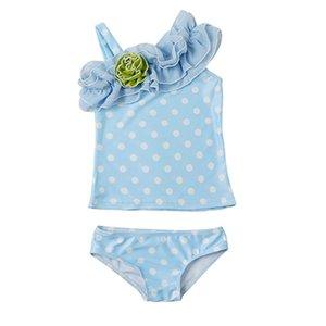 Sagace niñas traje de baño de las niñas entre padres e hijos traje de baño partido del Polca-punto Breves bebé playa de los trajes niños beachwear