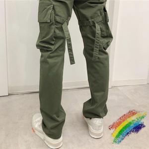 Les meilleurs PANTALON Femmes Hommes Jogger 1 Hommes Pantalons causales Joggers Army Green Noir