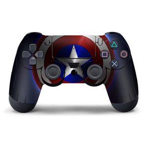 الألعاب المراقب ديكور للPS4 الاهتزاز المقود غمبد تحكم لعبة سوني بلاي ستيشن PS4 ملصق حدة زينة DHL