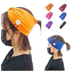 горячая одноразовая маска анти удушение оголовье упражнения головной платок йога поглощение пота группа волос мытье лица группа волос T2I5894
