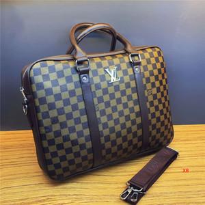 Design Herren Aktentasche Männer Luxus-Handtaschen Art und Weise Männer Beiläufiges Büro Schultertasche Marken-Handtasche B102686K