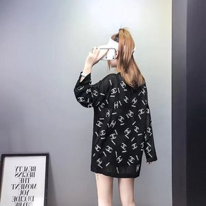 Spring and summer 2020 new Korean version loose knit perspective sweater thin autumn wear long sleeve jacket fashion