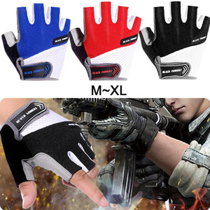 1 Paar Half Finger Radfahren Handschuhe Rutschfeste Gel Fahrrad Reithandschuhe Rutschfeste Mountainbike Handschuh Anti Shock Sport Radfahren