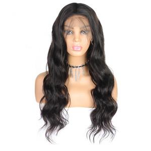 10A péruvien corps bouclés perruques 360 dentelle pleine perruques de cheveux humains Eau 10 « -26 » Deep lâche droite cheveux humains Lace Front Wigs brésilien cheveux