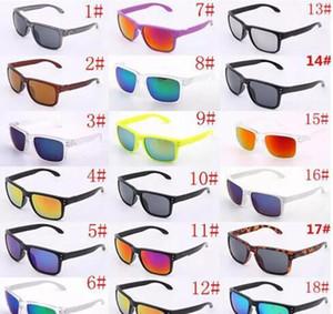 Brand design Sunglasses UV400 Protection 9102 Sport Sunglasses Hommes Femmes Unisexe Summer Shade Eyewear Vélo Extérieur Verre Sun Verre 18 couleurs