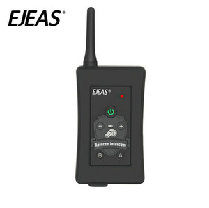 2020-New 4 PCS Football Referees Intercom Headset Bluetooth Vnetphone FBIM 1200M Wireless Real Time Full Duplex BT Interphone+FM 800Mah