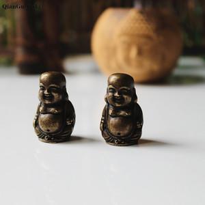 novo estilo antigo Bronze oco Príncipe Estátua de Buda Boddhisattva Maitreya Sakyamuni Ornamentos Copper Figurines Detalhes no turismo