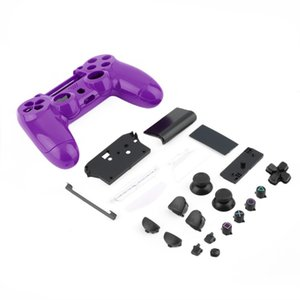 Gamepad Controller Housing Shell W Buttons Kit for PS4 Handle Cover Case