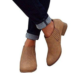 YOMISOY Women Shoes Ankle Ladies Boots Solid Botas Mujer Bota Feminina New Laarzen Dames Shoes Women 2018
