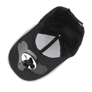 1PC Sum Sport Outdoor Hat Cap with Solar Sun Power Cool Fan For Cycling Golf Baseball 4color Best price