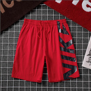Popular 2020 new men's sailing embroidered beach pants Korean fashion casual shorts quick drying shorts011