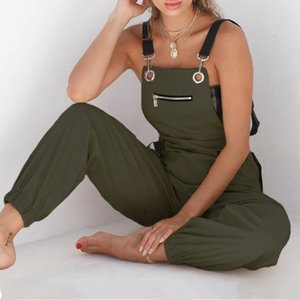 2020 Newly Clothes Super Comfy Women's Loose Overalls Bottoms Pants Tights Casual Trousers Jumpsuit Rompers Womens Jumpsuit 21