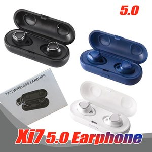 xi7 tws wireless bluetooth 5.0 headphones stereo mini Earphones wireless headset earbuds for smartphones vs samsung Gear IconX