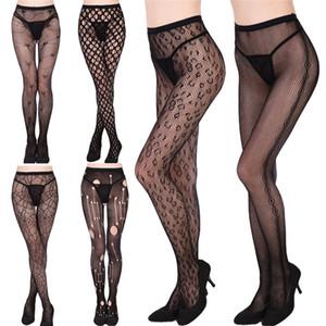 New Mulheres Sexy de cristal Rhinestone Fishnet rede de malha Meias calças justas Pantyhose