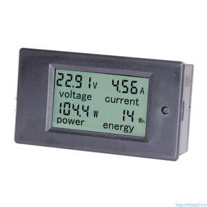 DC 6.5-100V 0-20A LCD дисплей Цифровой амперметр Вольтметр мультиметр Ток Напряжение питания Energy Battery Monitor Amperage Meter Gauge