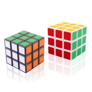 10 PCS Professional Cube Classic 5.6cm Vitesse Pour Magic Cube Antistress Puzzle Néo Cubo Magico Autocollant pour enfants Jouets pour enfants adultes