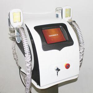 2 مقابض كول كرو الجسم التخسيس النحت Cryolipolysis الدهون تجميد آلة الجمال لتخفيف الاستخدام المنزلي وزن الجسم المشكل معدات