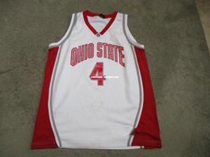 Дешевый пользовательского VINTAGE штат Огайо Buckeyes Баскетбол Джерси ОГ прошитая Customize любое имя номер MEN WOMEN МОЛОДЕЖНЫЙ XS-5XL