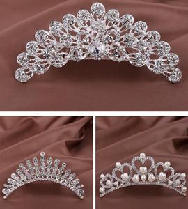 Kristall Tiara Crown Stirnband Kopfschmuck Strass Haarschmuck für Frauen Kinder Mädchen Geburtstag Hochzeit Pageant Prom Party Kronen Splitter