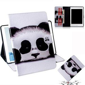 Panda Pattern горизонтальный флип кожаный чехол для Amazon Kindle Paperwhite 4 / 3 / 2 / 1, с держателем слота для карт бумажник
