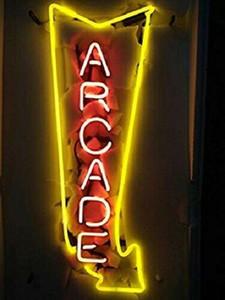 "17 ""Arcade Arrow GAME Room CAVE CAVE فتح متجر BEER BAR CLUB WALL DECOR LAMP NEON LIGHT"