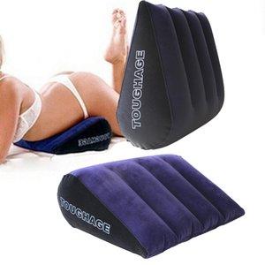 Gonfiabile Sex Aiuti cuscino per le donne Amore Posizione Cushione Sex mobili erotici Divano Giochi per adulti per Coppie