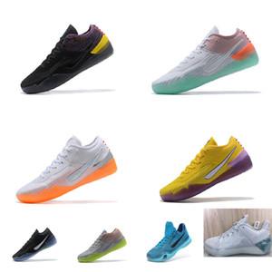 Мужские ZK Bryants объявления NXT 360 баскетбол обувь KB360 Mamba Черный Фиолетовый Белый Оранжевый Желтый Серый Джеймс Леброн 17 XVII кроссовки тенниса с коробкой