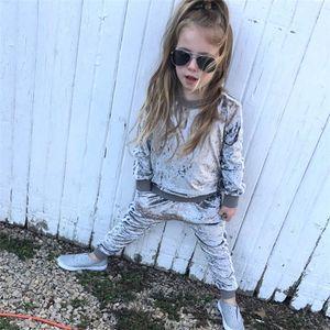 4 цвета весна осень детская одежда для младенцев Мальчики Одежда наборы дети костюмы спортивный костюм флис девочек Повседневный комплект Оптовая ZJY832