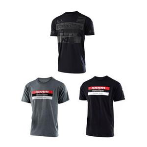 SRAM velocidad gota TLD Equipo Custom Edition Plus de manga corta camiseta de Deportes camiseta de verano a caballo Jersey