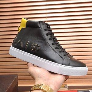 Мужская обувь Сапоги Luxury Reverse кроссовки в кожаные Мужская обувь моды Повседневный Тип Chaussures Pour Hommes V655 Ботильоны Luxury Design Men