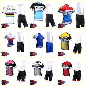2020 Quick Step Team Cycling Short Sleeves Jersey Shorts Set Breathable Quick Dry Clothing Mtb Summer Clothing Ropa Ciclismo