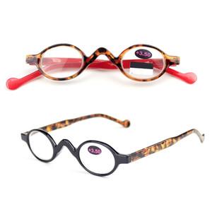 Овальные очки для чтения пресбиопические очки унисекс очки чтение усиления подарок для Иглы Waitching легкие очки 3colors GGA1822