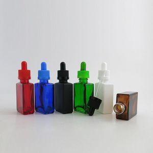 360 X 30ml Ätherisches Öl-Reisen bewegliches buntes Glas mit Plastikkappe für Flüssiges Reagens Pipette Flaschen kosmetischer Behälter