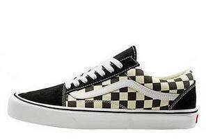2020 scarpe di tela womenmen Moda Skate Casual Shoes femminile scacchi Slittamento sul carrello Flats Tenis TAGLIA 35-45