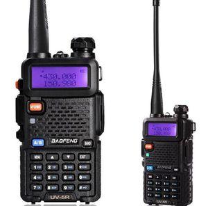 Rádio Original BAOFENG UV5R dupla BandTransceiver UV5R Two Way Walkie Talkiea BF-UV5R Com Auriculares gratuito