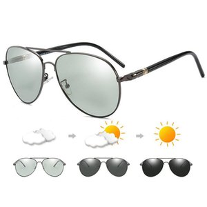 2019 Photochromic Sunglasses Men Polarized Sunglesses Driving Chameleon Sun Glasses Change Color Men Sunglasses Rb209 Design mzyEI