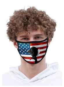 USA Independence Day Maske für Dame Cubrebocas Farbe Rosa Masken Waschbar Polyester Usa Unabhängigkeit Authenti sqtrimmer CycjZ